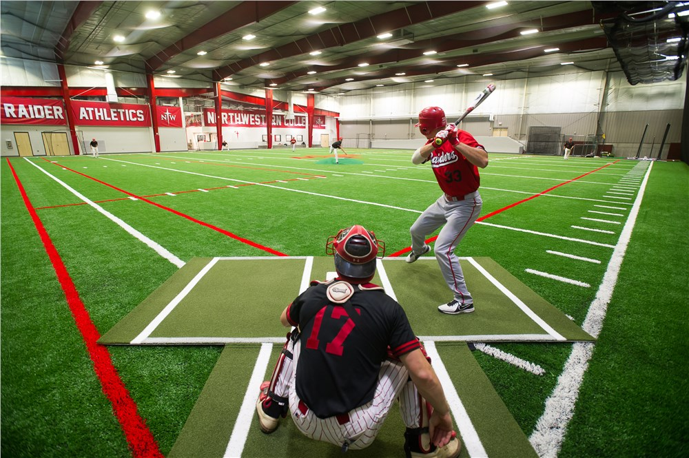 Northwestern College Photos A Fieldhouse For The Red