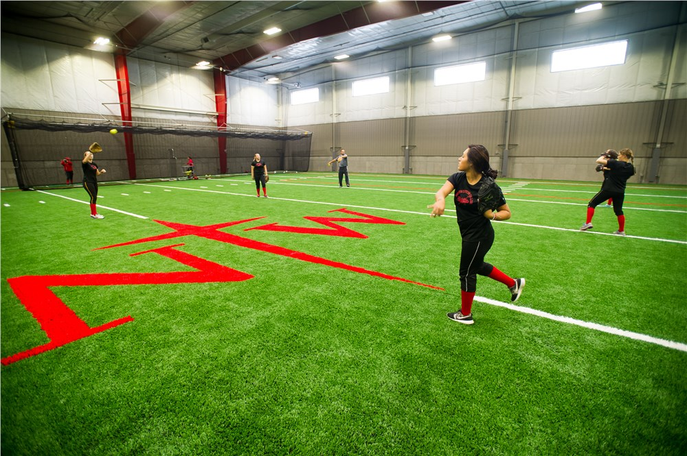 Northwestern College | Photos | A Fieldhouse for the Red ...