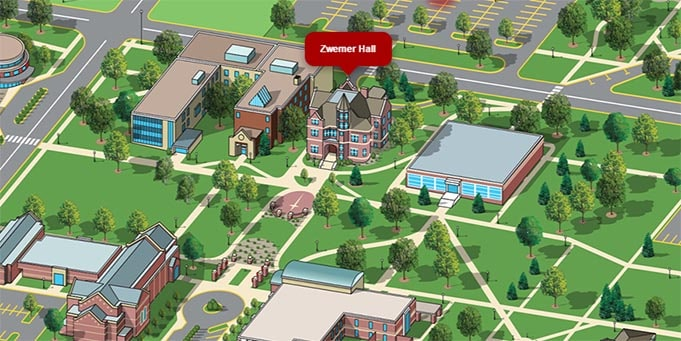 virtual tour northwestern college
