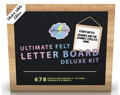 Ultimate Felt Letter Board Deluxe Kit