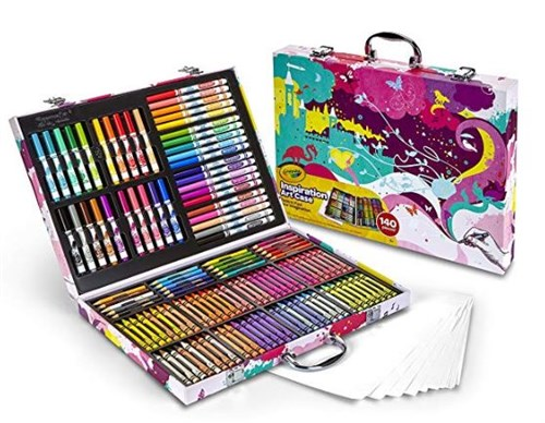 Crayola Pink Portable Art Kit