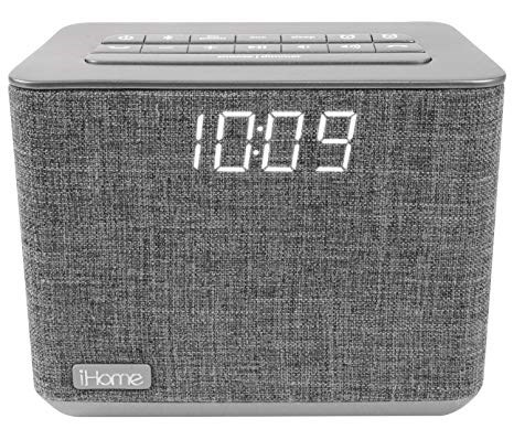 iHome FM Bluetooth Alarm Clock