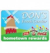 Don's Food Center Gift Card