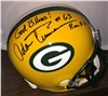 Adam Timmerman Autographed Green Bay Helmet