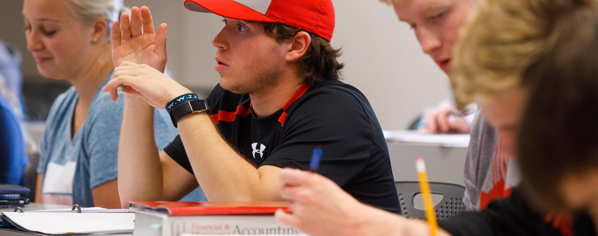 Our accounting students' CPA exam pass rates are #1 in Iowa and #2 in the nation.