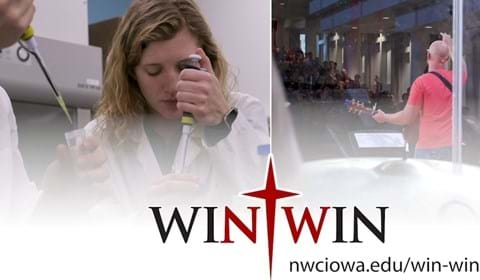 Win-win: Strong in science and rooted in faith