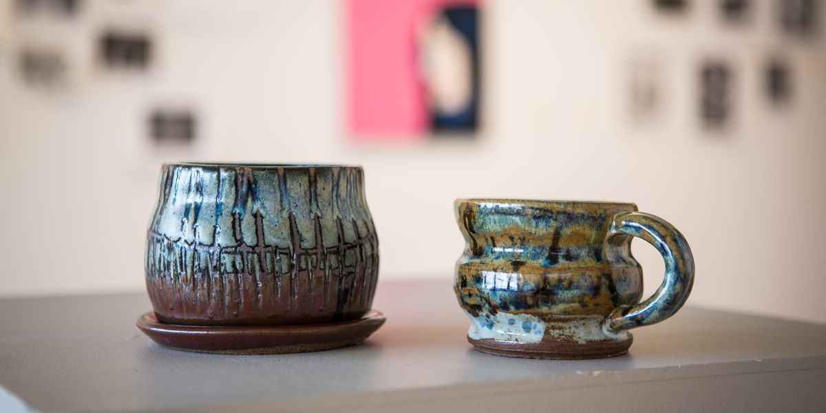 Northwestern's art department presents a juried exhibition of student artwork each spring.