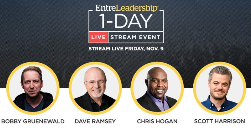 EntreLeadership 1-Day Live stream at Northwestern College