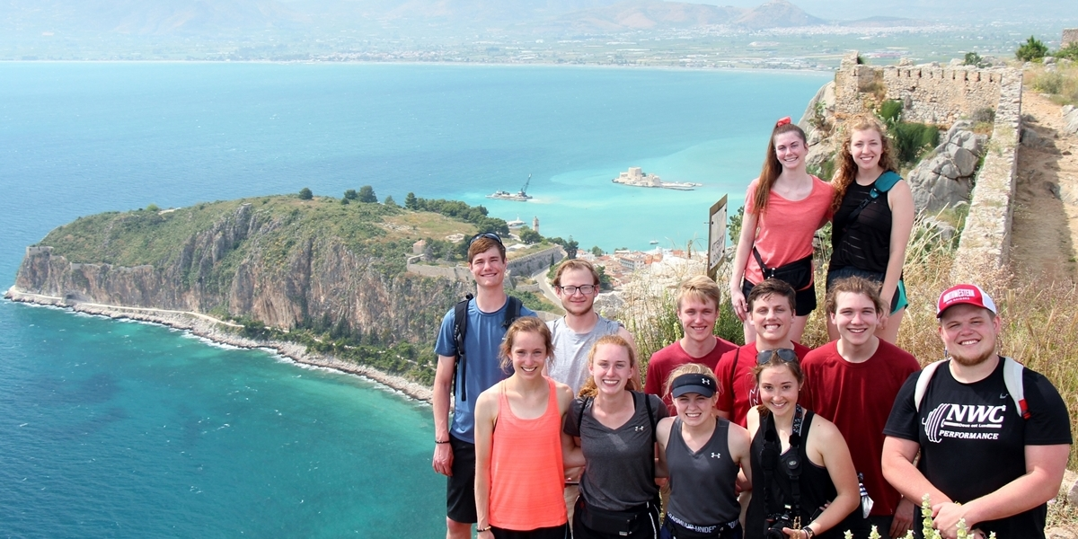 Honors Program Greece study abroad course