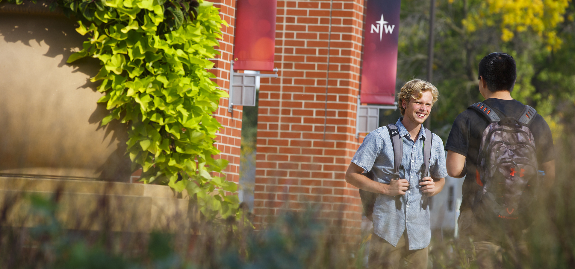 Real. Smart. Christians. Authentic community. Excellent academics. Christ-centered learning. That's Northwestern College.