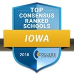 Northwestern ranked as Iowa's third-best college by College Consensus