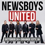 Northwestern College to host Newsboys United concert Oct. 24