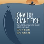 Jonah and the whale on stage at Northwestern