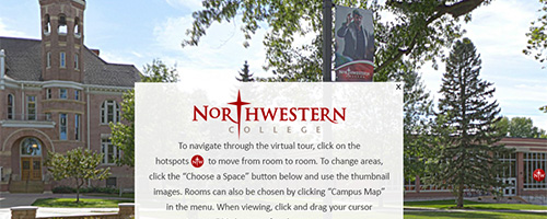 northwestern college virtual tour