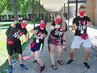 NWC orientation leaders.