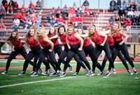 Red Raider dance team performing